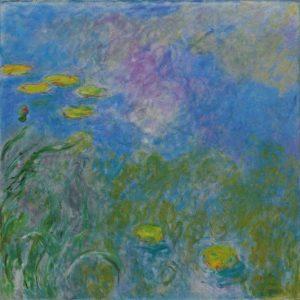 「睡蓮」(1914‐1917年)クロード・モネ
