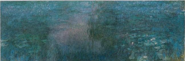 「睡蓮の池」(1915‐1926年)クロード・モネ