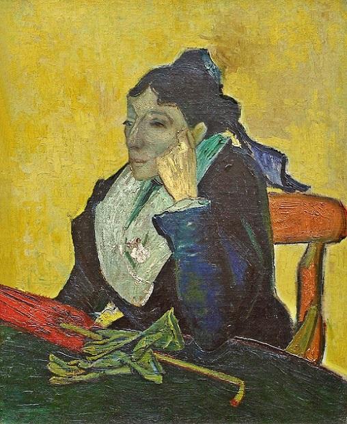 「アルルの女(ジヌー夫人)」(1888年)フィンセント・ファン・ゴッホ