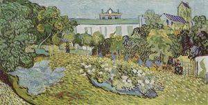 「ドービニーの庭」(1890年7月)フィンセント・ファン・ゴッホ