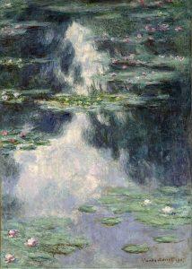 「睡蓮の池」(1907年)クロード・モネ