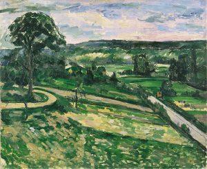「曲がり角のそばにある木」(1881‐82年)ポール・セザンヌ