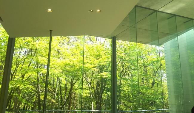 箱根のポーラ美術館