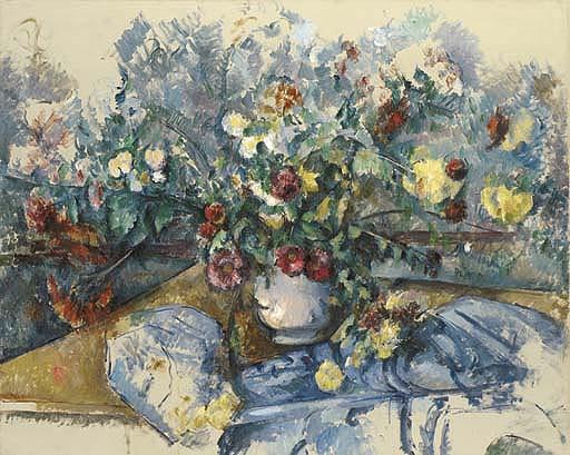 「大きな花束」(1892-95年)ポール・セザンヌ